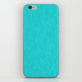 Cyan Fibre iPhone Skin