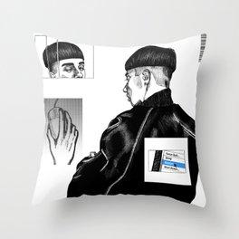 Restart Throw Pillow