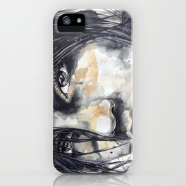 Odette by carographic, Carolyn Mielke iPhone Case