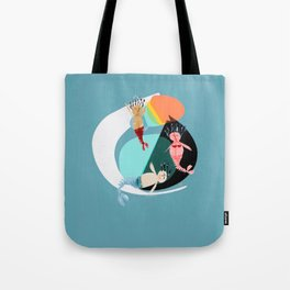 Sirenas Tote Bag