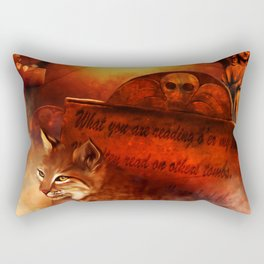Bobcat Spirit Rectangular Pillow