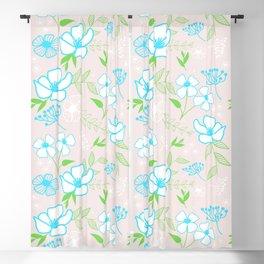 17 Soft Blossoms Blackout Curtain
