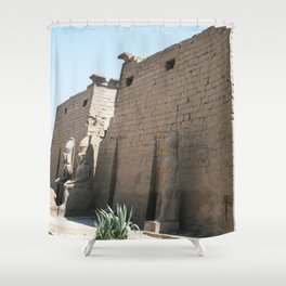Temple of Luxor, no. 26 Shower Curtain