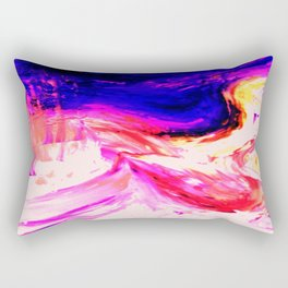 Abstract Hurricane 3 by Robert S. Lee Rectangular Pillow