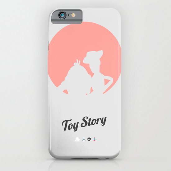 Toy Story - minimal poster iPhone & iPod Case