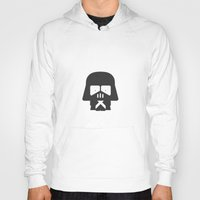 foo fighters Hoodies featuring Darth Fighters / Darth Vader by Nillustra™