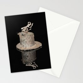 """""""Reflections"""" - Metal Sculpture - Bug Stationery Cards"""