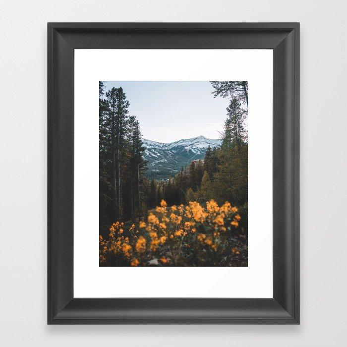 Breckenridge Mountains Gerahmter Kunstdruck