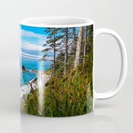 Pacific View - Coastal Scenery in Washington State Coffee Mug