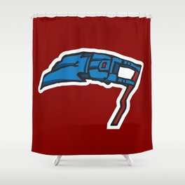 NichVegas 'Necks Logo Shower Curtain