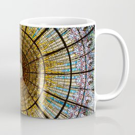 Barcelona glass window stained glass Coffee Mug