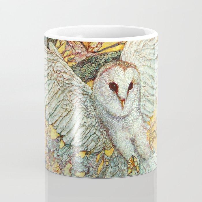 The Playground _ Raven, Owl, Chickadee Coffee Mug