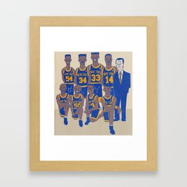 The '94 Knicks Framed Art Print
