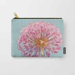 Pink Allium Carry-All Pouch