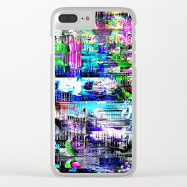 X Claim Nation:Corruption!  Clear iPhone Case