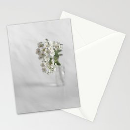 Spirea in vial art #2 Stationery Cards
