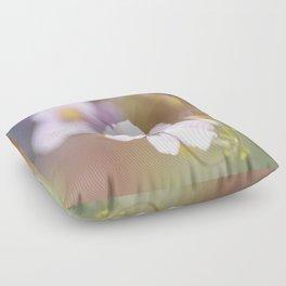 Anemone in the Garden Floor Pillow