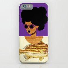 Postcard Fashion in Purple iPhone 6s Slim Case