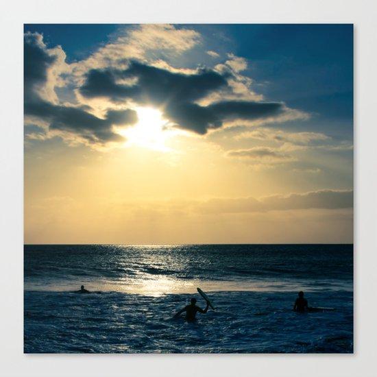 E ala mai o loko i ke kuhohonu o ke Aloha Kamaole Beach Canvas Print