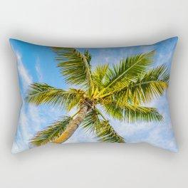 Palm in the Sky Rectangular Pillow