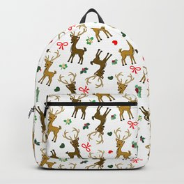 Christmas Cute Reindeer Backpack