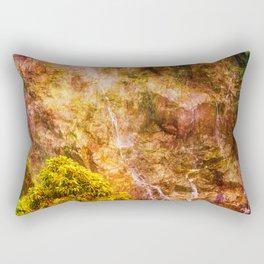 Moody waterfall Rectangular Pillow