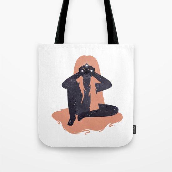 Space girl 2 Tote Bag