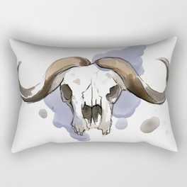 African Buffalo Rectangular Pillow