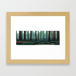 Redwood Vacation Framed Art Print