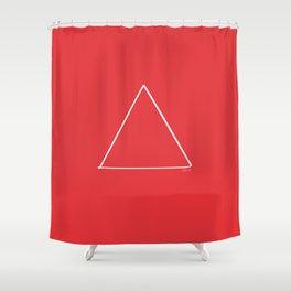 Fire - Minimal FS - by Friztin Shower Curtain