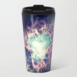 Galaxy Crab Nebula : Deep Pastels Travel Mug