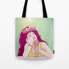 Unicorn Freakshake Lady Tote Bag