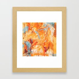 Abstract H1 Framed Art Print