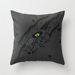 Dino Breakout Throw Pillow