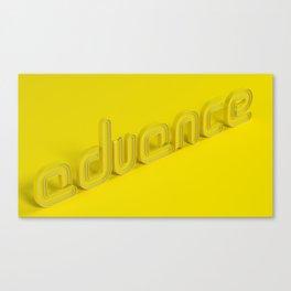 Advance Canvas Print