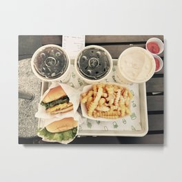 You Are What You Eat Metal Print