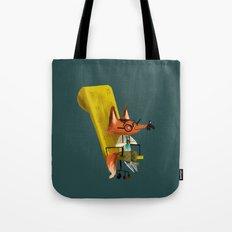 Fox Boss Tote Bag