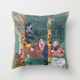 Secret Identity Throw Pillow