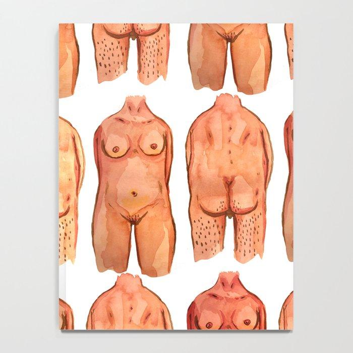 naked bodys Notebook