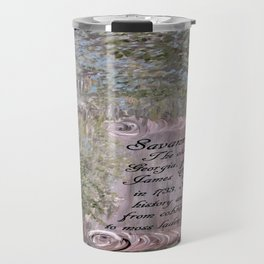 Savannah Scroll Travel Mug