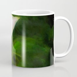Single Dogwood Flower Natural Coffee Mug