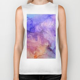Storm at Sunset Biker Tank
