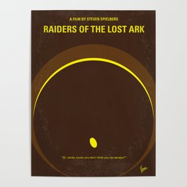 No068 My Raiders of the Lost Ark MMP Poster