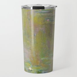 Water Lily Pond by Claude Monet Travel Mug