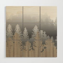 Treescape Large Square Wood Wall Art