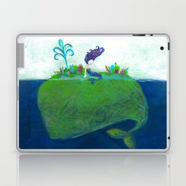Mermaid & Big Blue Laptop & iPad Skin