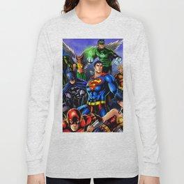 heroes all Long Sleeve T-shirt