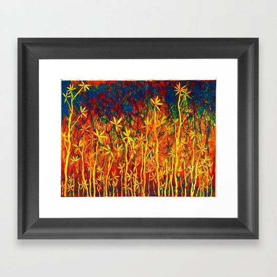 Reach for the Sky Framed Art Print