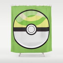 Nest Pokeball Shower Curtain