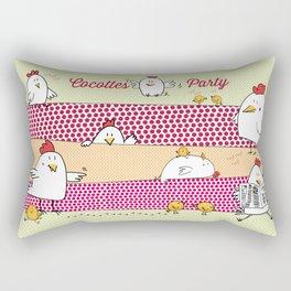Cocottes Party Rectangular Pillow